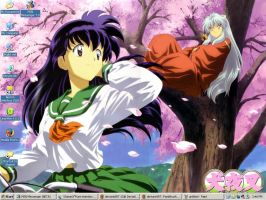 Inuyasha and Kagome by iacgirl