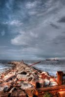 Shoreline HDR by withlovexoxo