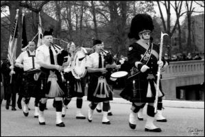 Indy Firefighters Bagpipe Band by tominabox1