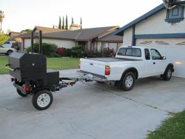 Barbecue Trailer by Craftsman107