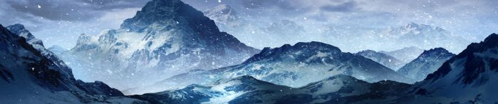 Snow moutain by zhanhui