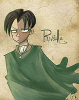 Levi Rivaille by Flaframur