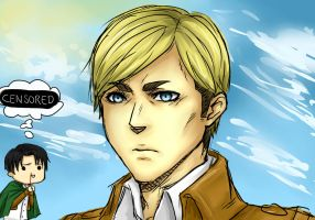 Erwin Smith by RukiaOrihara