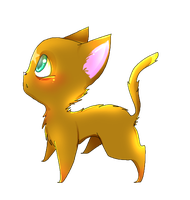 Firestar Chibi by Painted-Terror