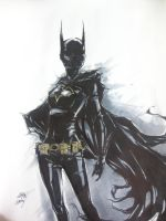 Cassandra Cain ink by AaronNSN