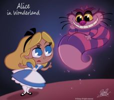 50 Chibis Disney : Alice by princekido