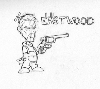 Lil' Eastwood sketch by xNLx