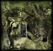 Surreal Pathway Background by mysticmorning