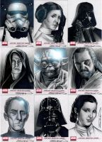 Star Wars Galaxy 4 Set 1 by RandySiplon