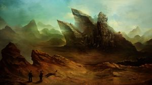 Desert planet... by SolFar
