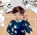 Art Trade with Fez on LINE Play by HeartTeddies
