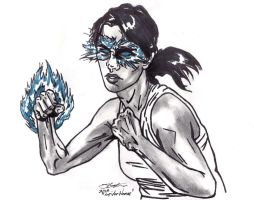 Jessica Drew An Agent of S.H.I.E.L.D. (Psionic) by AudioHomicide