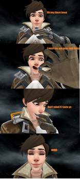 Tracer eats the planet by cubanapple