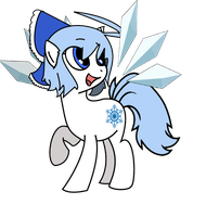 Ponyfied Cirno by arcza