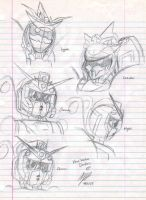 More Random Mecha Doodles XP by chaosphoniex