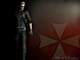 Albert Wesker Midnight by Jill-Valentine666