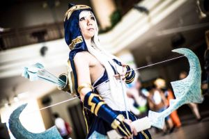 Ashe the Summoner's chosen one by asdcvbtuym