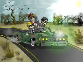 Rollin' Wit Mah Homies 8D by GreenDayComix