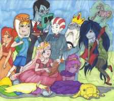 Realish Adventure Time by autumwind