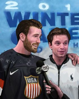 The Winter Olympics by Goyath
