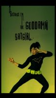 The Goddamn Batgirl by JenZee