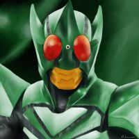 Kamen Rider Kick Hopper by ShadowRangerBlue