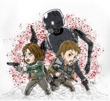 Rogue One - Version a color by Rofelogos