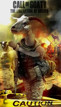 Call Of Goaty by SilverK99