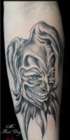 Joker Tattoo by Reddogtattoo