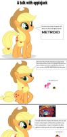 A talk with applejck by batman0889