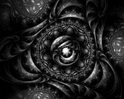 Black and White 01 - Frac 36 by MDK-fractal