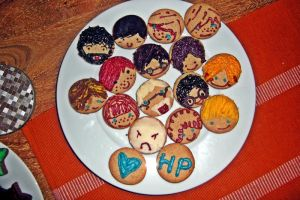 photo of harry potter cookies by AtrociousJoystick