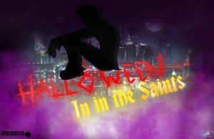 halloween in the saints poster by petplayer976