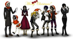Merry NOT Christmas by xXDeath-N-HellXx