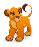 Cute Simba by ShimiArt