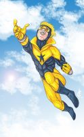 Booster Gold by Iris-Cougar
