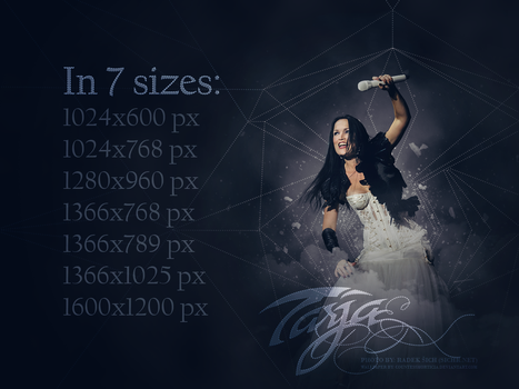 Tarja Turunen wallpapers by CountessMorticia