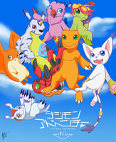 Digimon Adventure Tri. by Ryuuki6