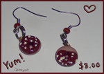 Choco Donut Earrings by geothebio