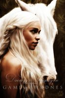 Daenerys Targaryen : Game of Thrones by RottonNymph