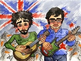 Flight of the Conchords by JoJo-Seames