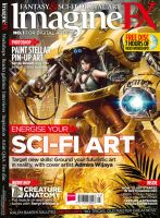 Issue 93 - Sci-fi cover! by Beren488