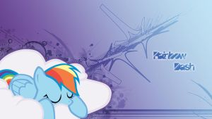 Sleepy Rainbow Dash by ShadowofSephiroth
