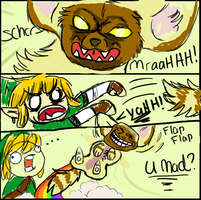 LOZ: Grab my MEME by Akadafeathers