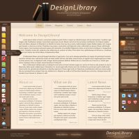 DesignLibrary - Template by VeraCotuna