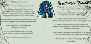 Arachnia Ponies Species by Arianstar