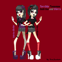 Terrible Twosome by DesuPanda98