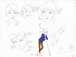 Jack Frost Character Design Study by LindaBurgess