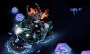 Midna for Mariokart by GFITHER
