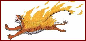 Tiger of Fire by gutter-child